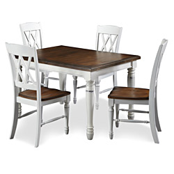 Monarch-Rectangular-Dining-Table-with-Four-Double-X-back-Chairs-P14606639