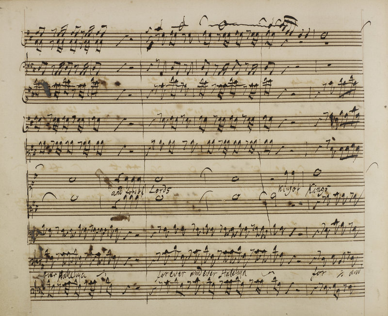 Letters and writings of George Frideric Handel