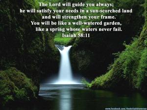Isaiah58.11