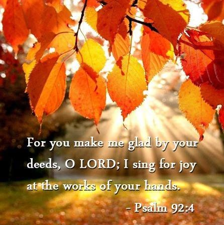 Psalm 92:4
