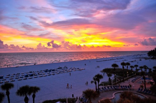 St.-Petersburg-Beach-Florida-Sunset