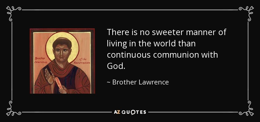 brother lawrence a christian zen master
