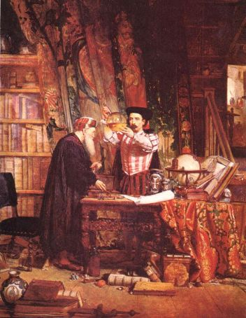 Sir William Fettes Douglas The Alchemist 19th cent.