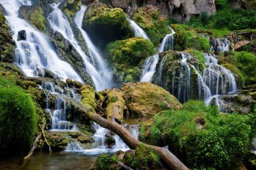 waterfalls-rocks-landscape
