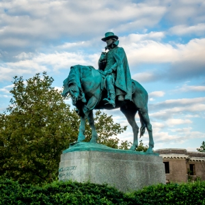 Monument to Francis Asbury in Washington, DC