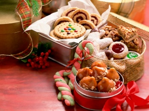 Tins of Christmas Sweets