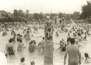pine_cove_beach_swimmers_hot_day_1950s